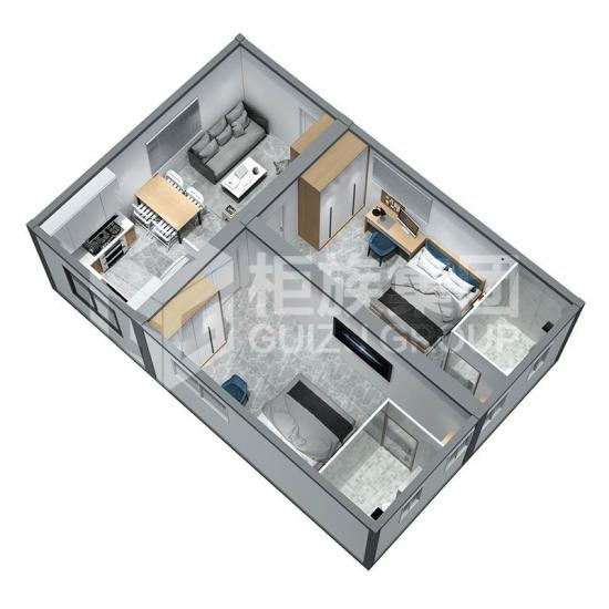 modern 2 bedroom prefab houses
