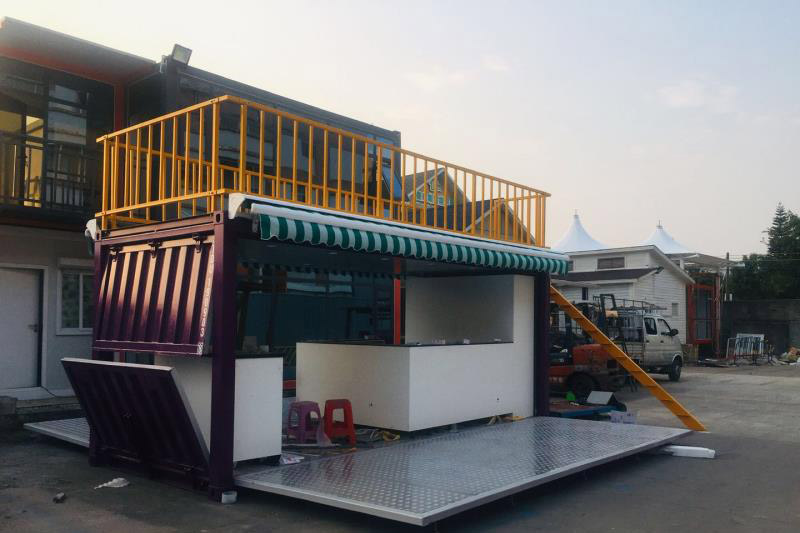 Container coffee house